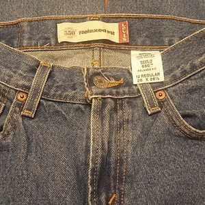 👦👖 Levi's Relaxed Fit 550 Blue Jeans
